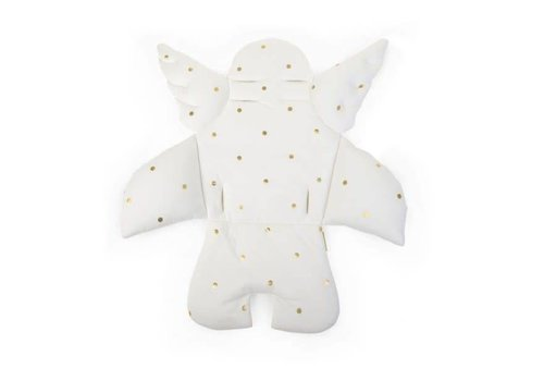 Childhome Childhome Cushion Angel Universal Jersey Gold Dots