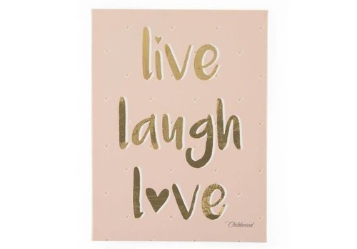 Childhome Childhome Painting Live Laugh Love 30 x 40