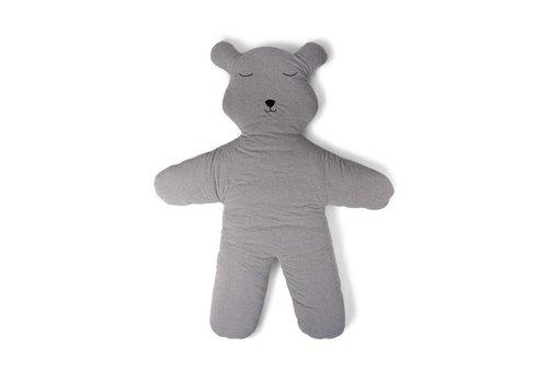 Childhome Childhome Speelmat Teddy 150 cm Jersey Grijs