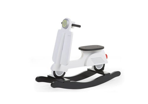 Childhome Childhome Rocking Scooter White