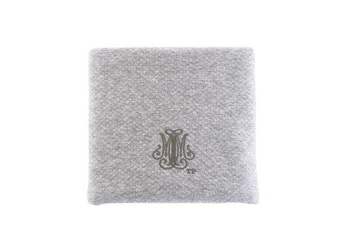 Theophile & Patachou Theophile & Patachou Baptism Blanket 100X135Cm - Waffled Grey