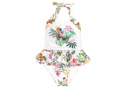 Monnalisa Monnalisa Swimsuit White Jungle Book