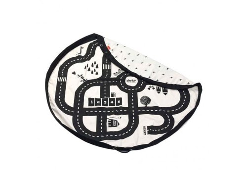 Play&Go Play & Go Opbergzak Autobaan / Bliksem