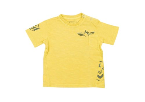 SP1 SP1 T-Shirt Geel Acid