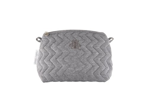 Theophile & Patachou Theophile & Patachou Toilet Bag - Quilted Anthracite