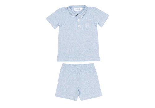Cotolini Cotolini Pyjama Short Cyrille Ciel Chine