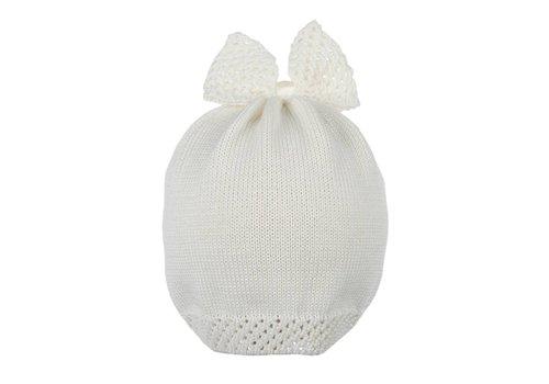 Il Trenino Il Trenino Hat Cotton Offwhite Cream