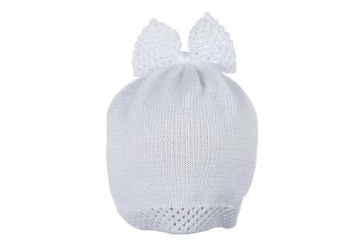 Il Trenino Il Trenino Hat With Bow White