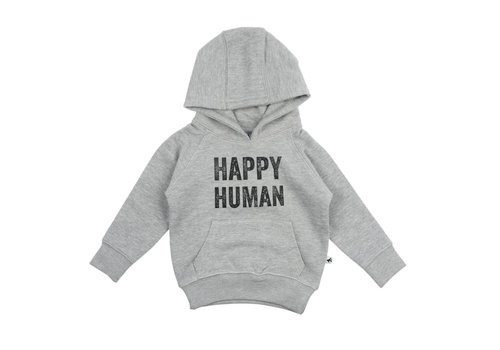 Cos I Said So Cos I Said So Hooded Sweater Happy Human Heather Grey