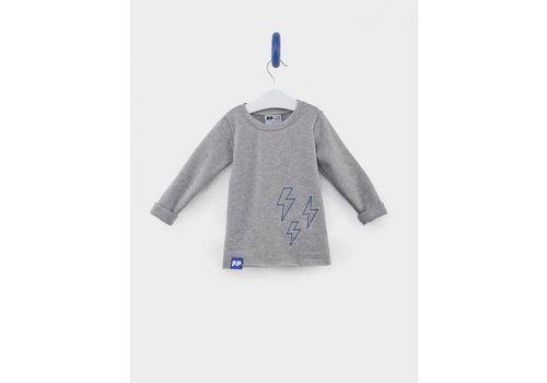 From Paris From Paris Sweatshirt Grijs - Blauw