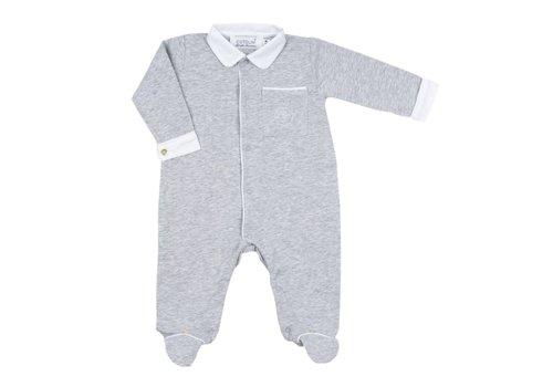 Cotolini Cotolini Pyjama Matteo Grijs Wit
