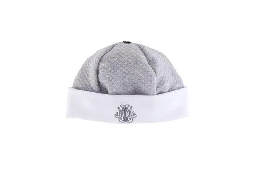 Theophile & Patachou Theophile & Patachou Hat Jersey Waffled Grey