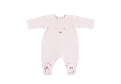 Theophile & Patachou Theophile & Patachou Playsuit Jersey Patchou - Pink