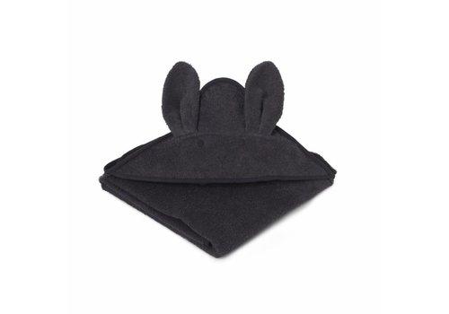 Liewood Liewood Hooded Towel Rabbit Grey