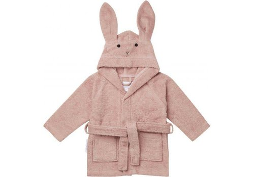 Liewood Liewood Bathrobe Rabbit Pink
