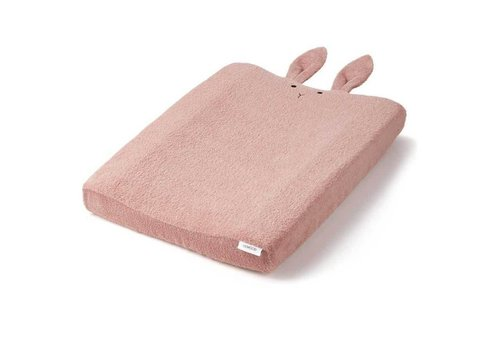 Liewood Liewood Cover Changing Pad Rabbit Pink
