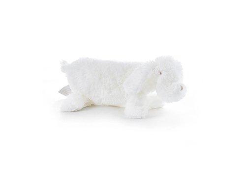 Theophile & Patachou Theophile & Patachou Cuddle Cloth Dog White
