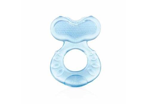 Nuby Nuby Teether Fish With Little Toothbrush - 0M+ Blue