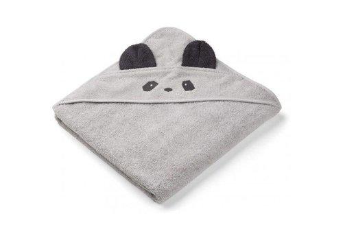 Liewood Liewood Hooded Towel Panda Grey