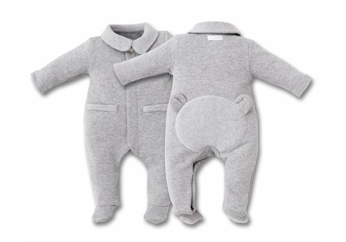 My First Collection First Pyjamas Grey With Teddy