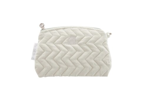 Theophile & Patachou Theophile & Patachou Toilet Bag - Quilted Mint