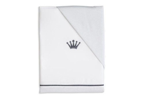 My First Collection First Duvet Cover 140 x 10 White - Denim