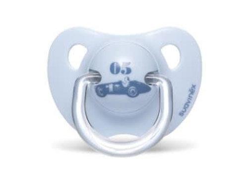 Suavinex Suavinex Fopspeen Silicone Anatomical 0-6M Toys Auto 05 Blauw