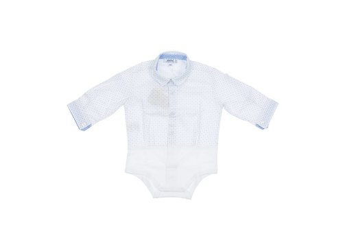 Aletta Aletta Body Shirt With Blue Spots