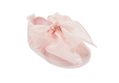 Aletta Aletta Shoes Pink With Bow