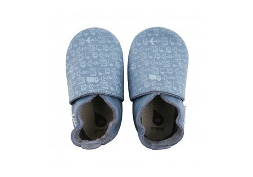 Bobux Bobux Baby Shoes Transport Blue
