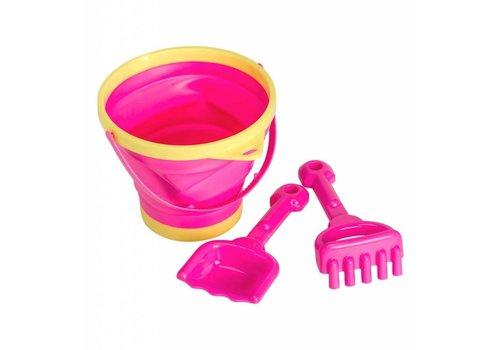 A Little Lovely Company A Little Lovely Company Bucket - Spade Set Pink