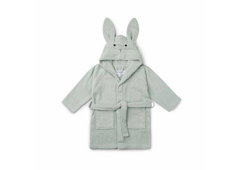Liewood Liewood Bathrobe Rabbit Dusty Mint