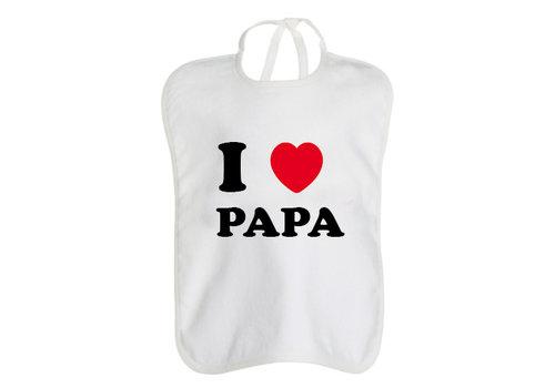 Egomaniac Egomaniac Bib I Love Papa