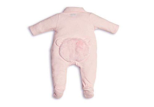 First First Combi Teddy Fur On Back Pink