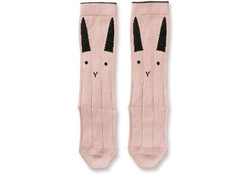 Liewood Liewood Knee Socks Sofia Rabbit Rose