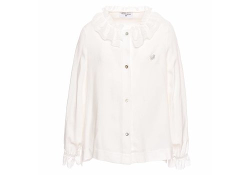 Monnalisa Monnalisa Shirt Patty Offwhite
