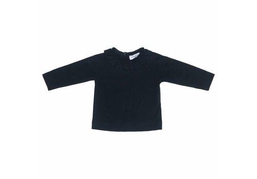 Monnalisa Monnalisa T-Shirt Round Collar Navy