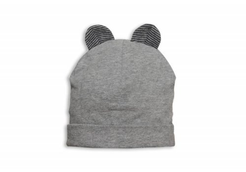 My First Collection First Cap Grey With Teddy Ears