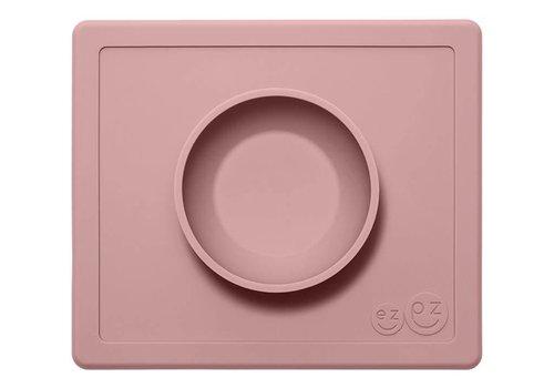 EZPZ EZPZ Placemat + Bowl Mini Mat Rose Poudré