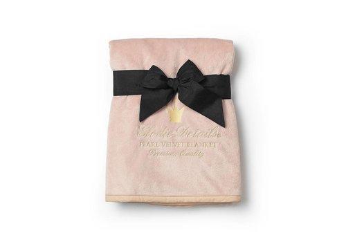 Elodie details Elodie Details Pearl Velvet Blanket Powder Pink