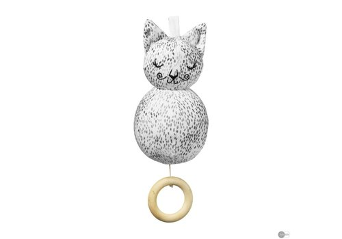 Elodie Details Musical Toy Dots of Fauna Kitty