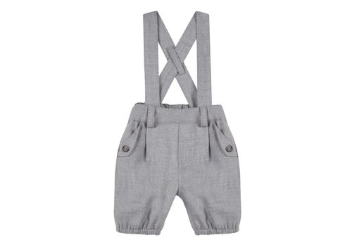Tartine Et Chocolat Tartine & Chocolat Pants With Suspenders Grey