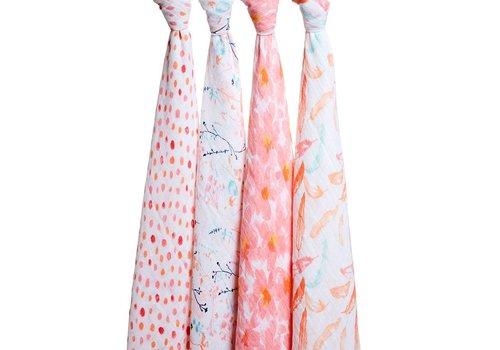 Aden & Anais Aden & Anais Tetradoeken Petal Blooms 4-Pack