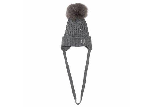 Monnalisa Monnalisa Hat Pom-Pom Grey