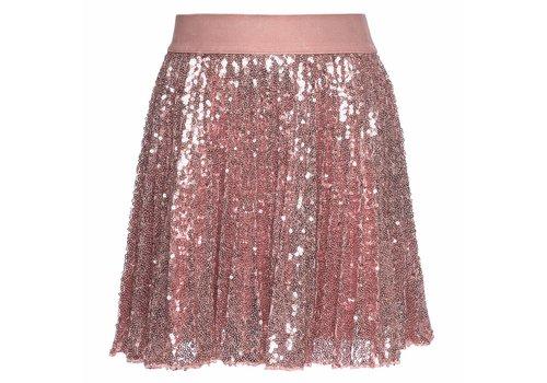 Monnalisa Monnalisa Rok Glitter Oud Roze