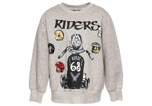 Monnalisa Monnalisa Sweater St.Riders Grey