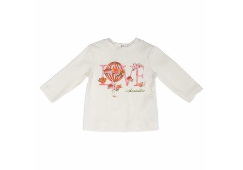 Monnalisa Monnalisa T-Shirt St.Love Ecru