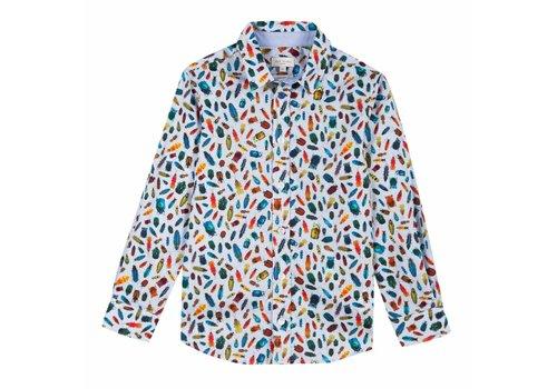 Paul Smith Paul Smith Shirt Bugs Light Blue