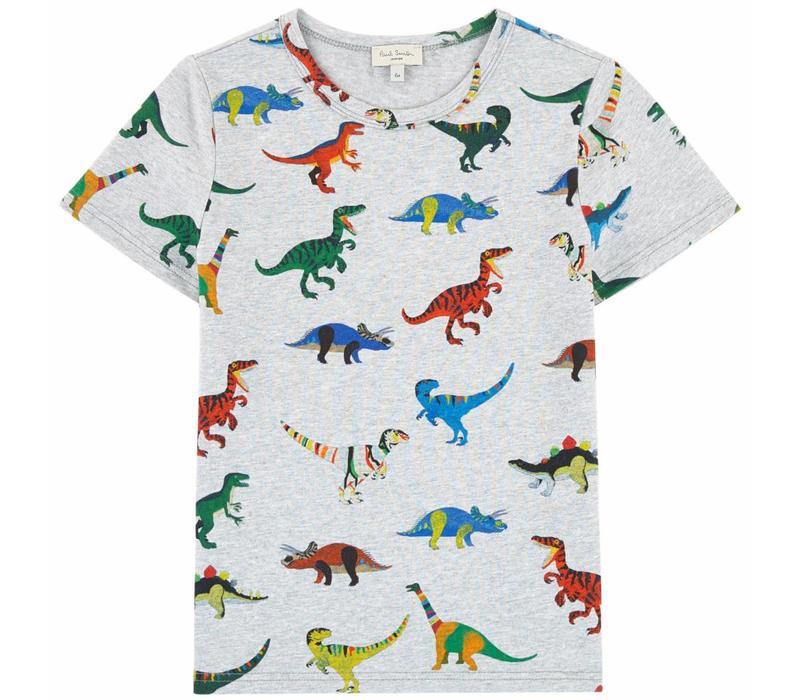 Paul Smith T-Shirt Dino Grey