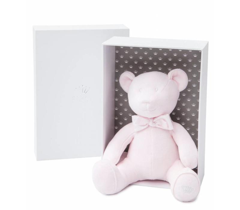 Musical Bear Pink Velvet (Gift Box Included)